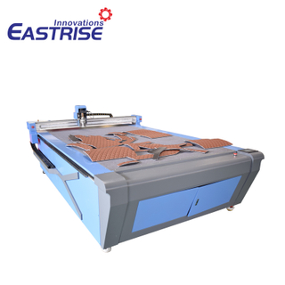 1625 Oscillating Knife Cutting Machine for Textile, Fabric, Cloth, Leather