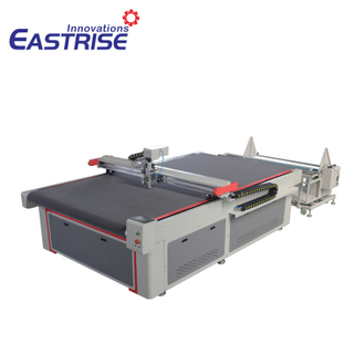 1625 Auto Feeding Oscillating Knife Cutting Machine for Textile