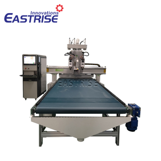 1325 Double-spindle ATC Furniture Cnc Router with Boring Head