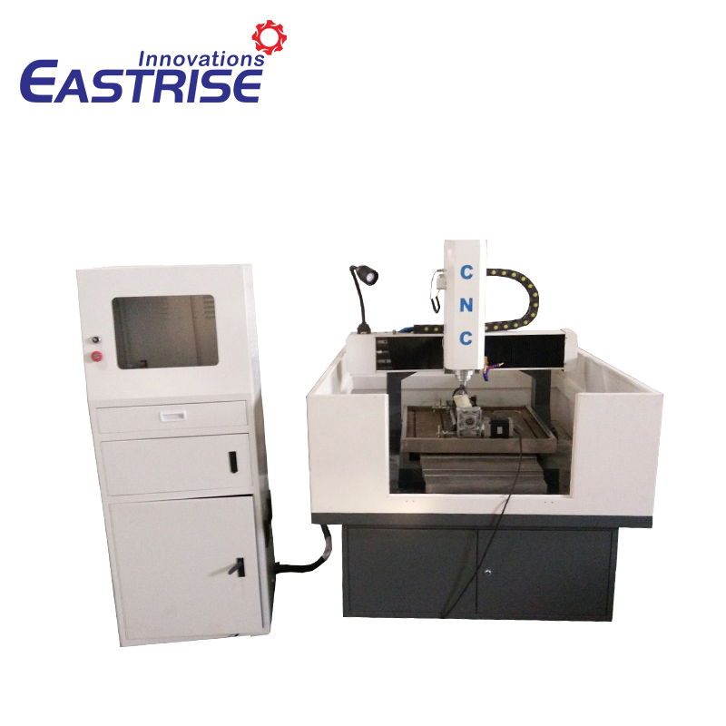 6060 600*600mm Semi-sealed Mould Carving Egraving Machine with Rotary Axis