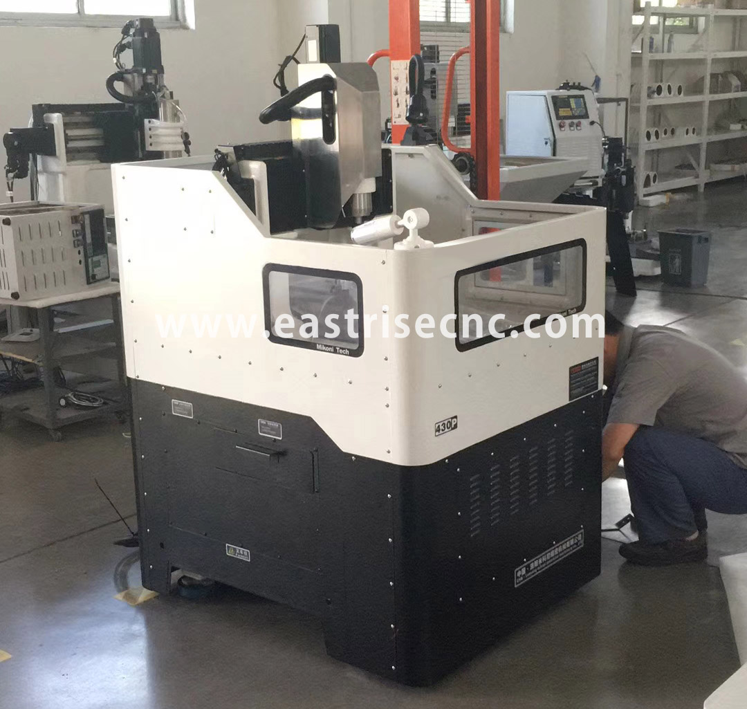 430 540 Semi-sealed Metal Mould Making Machine,Metal Mould Cnc Router