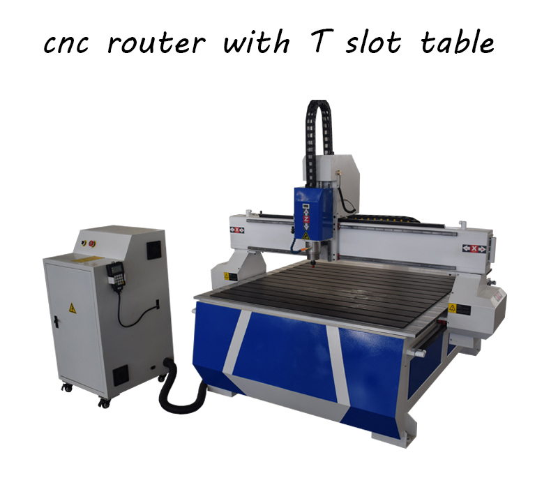 cnc router with t slot table