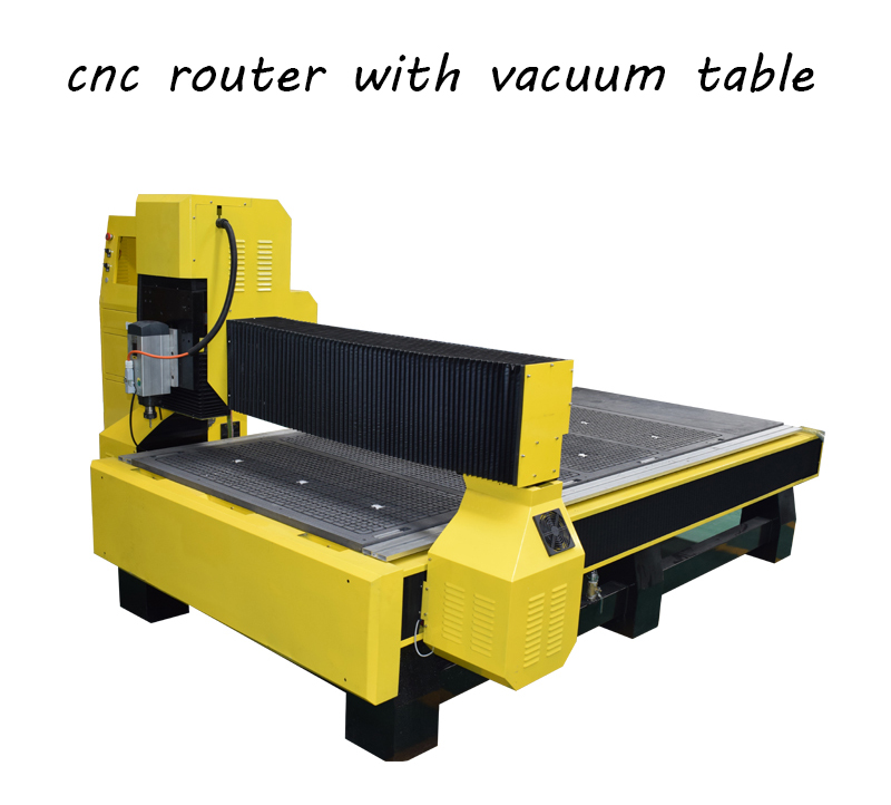 cnc router with vacuum table