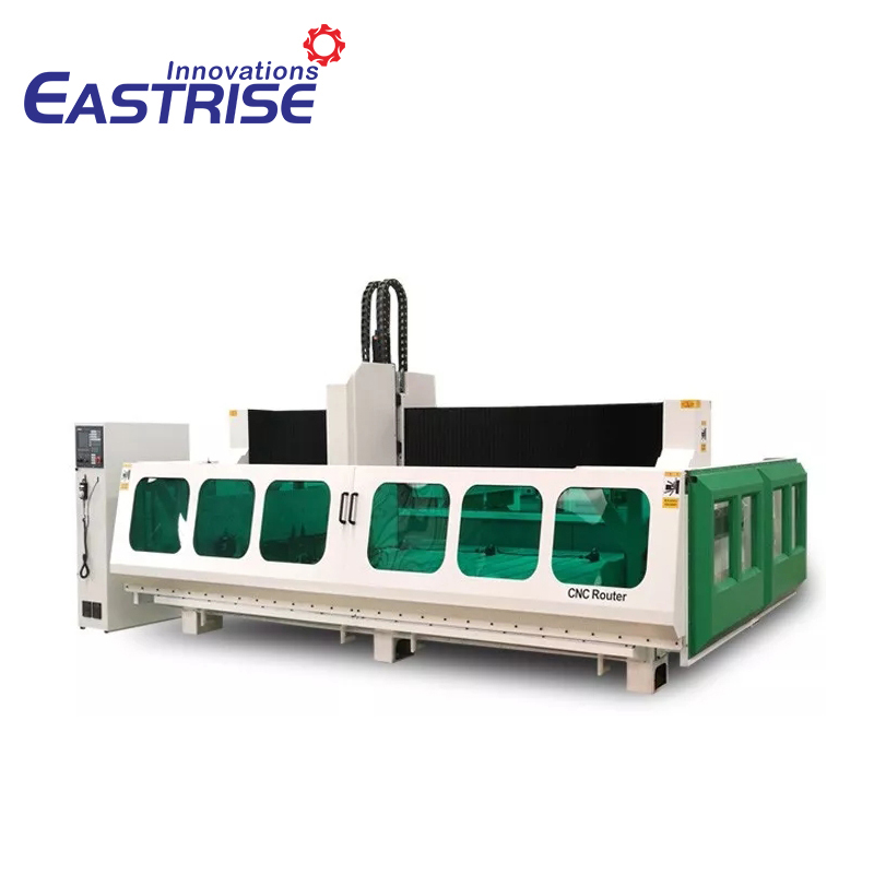 CNC Stone Cutting And Polishing Machine for Quartz,Granite,Marble