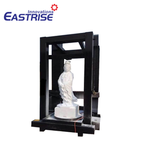 4 Axis Vertical Stone CNC Carving Machine for Column,Buddha,Statues
