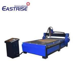 1325 1530 Plasma And Flame Metal Cutting Machine for Steel SS CS MS Copper Aluminium